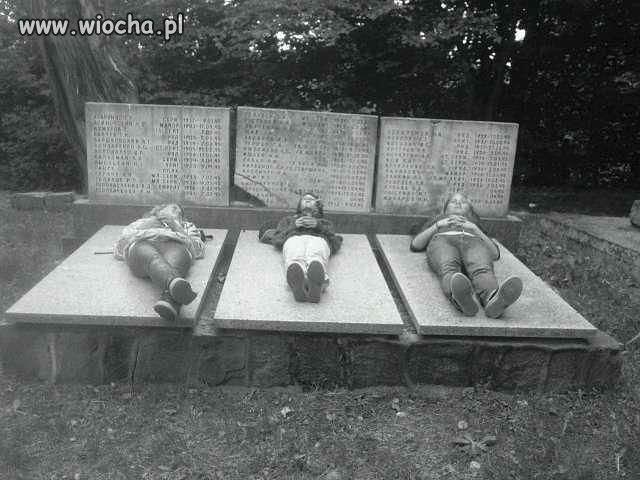 Zero szacunku dla ludzi poległych...