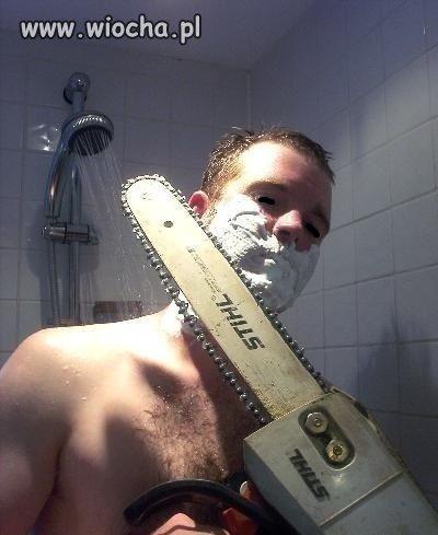 Gillette dla mężczyzny.