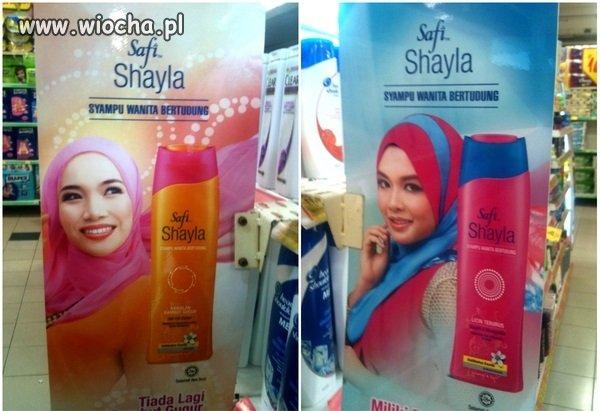 Nieoczekiwany efekt szamponu