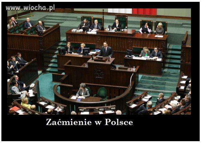 W Polsce codziennie jest zaćmienie