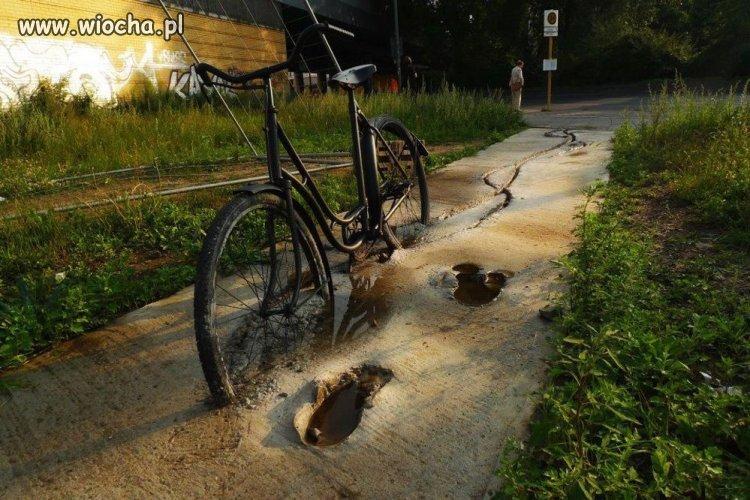 Ścieżka rowerowa.