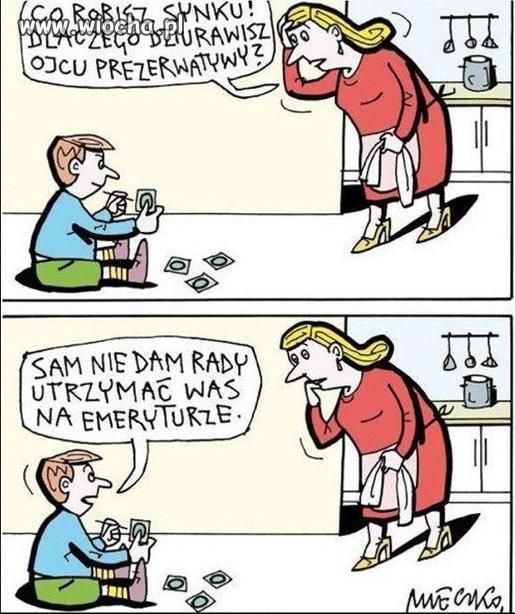 Współczesne dzieci.