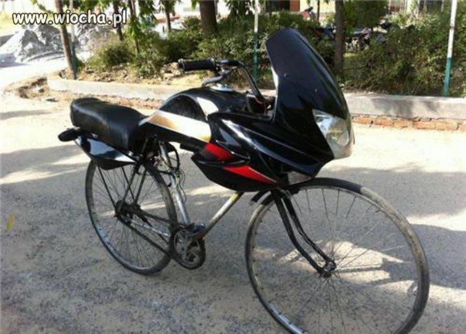 Moto-rower