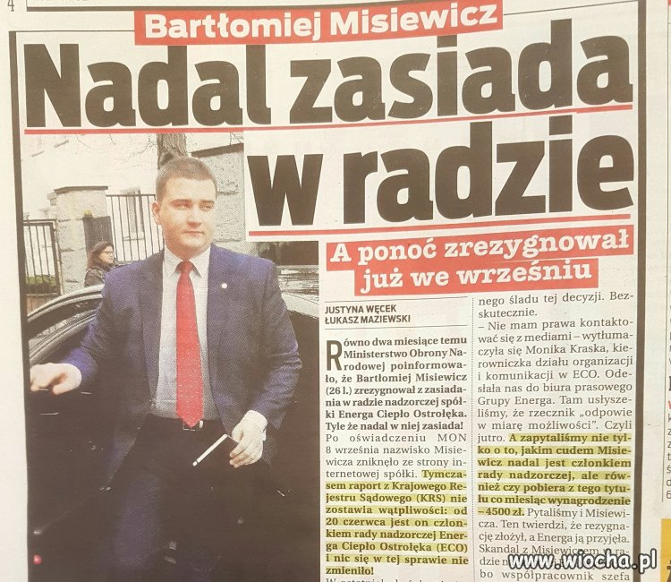 Kłamstw Macierewicza ciąg dalszy
