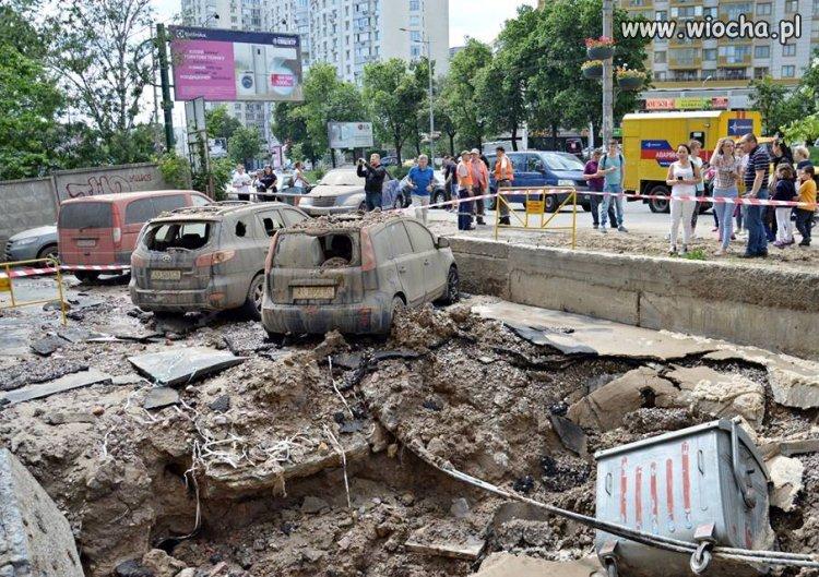 Test sieci ciepłowniczej w Kijowie