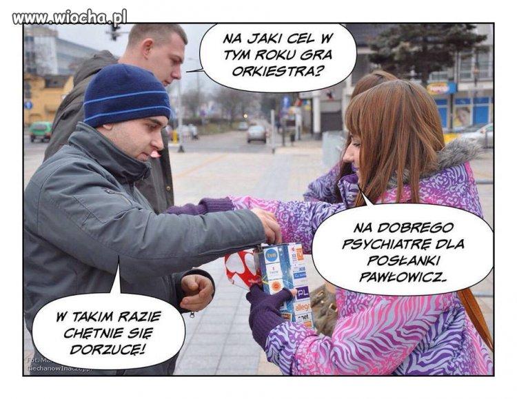 Posłanka Pawłowicz znowu gwiazdą !
