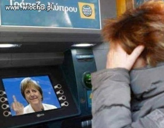 Grecki bankomat