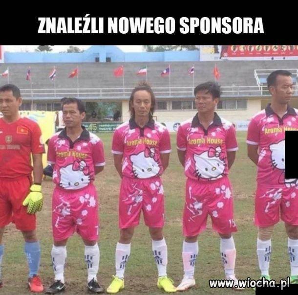 Nowy sponsor