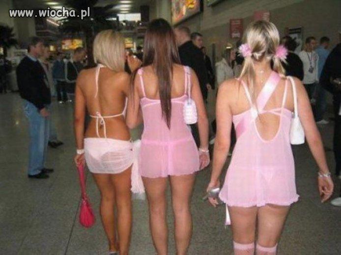 Na lotnisko się wybrały...