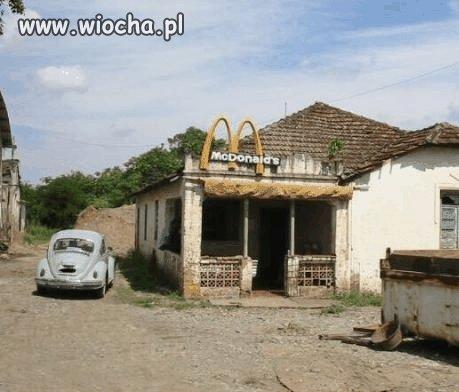 Nowoczesny McDonalds