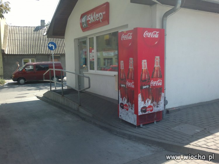 Inowrocław Orlen+Coca Cola dba o niepełnosprawnych