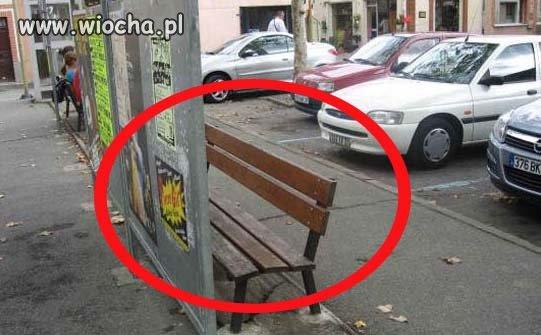 I jak tu usiąść!