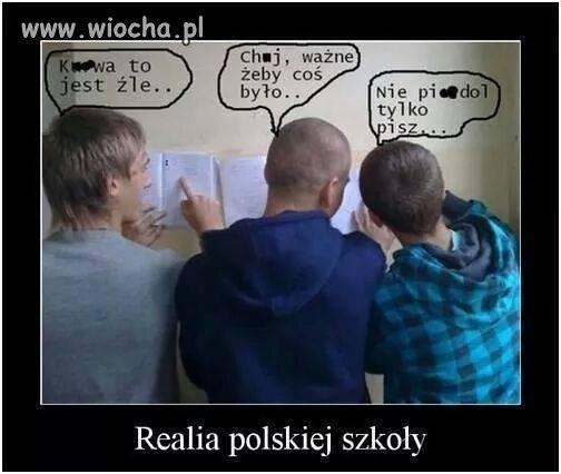 Realia polskiej szko�y