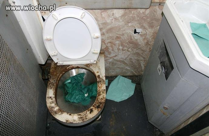 I weź tu skorzystaj z toalety