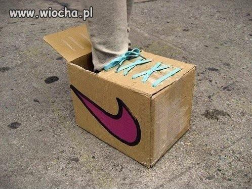 """Nike """"każdy orze jak może"""""""