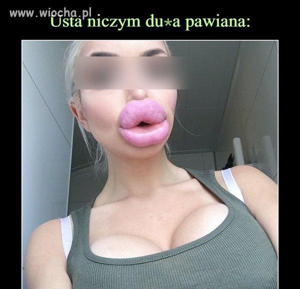Piękne usta...