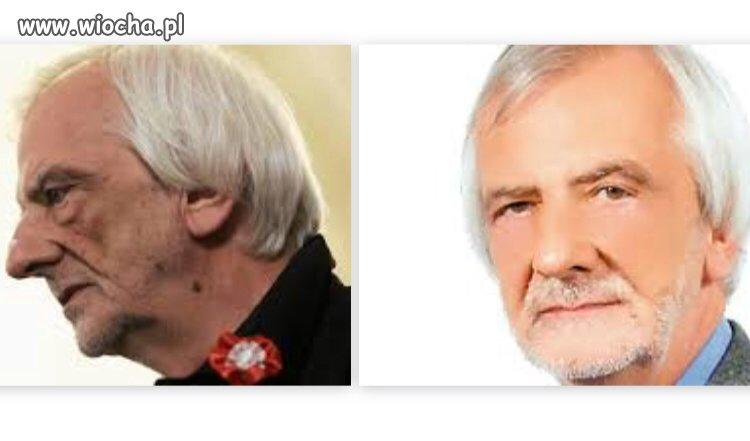 Zgadnijcie, które zdjęcie z plakatu wyborczego?