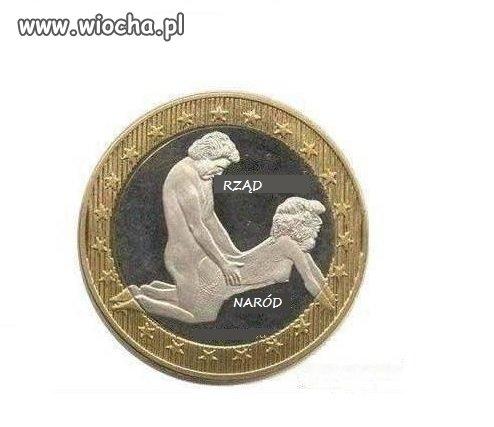 Prototyp polskiej monety Euro