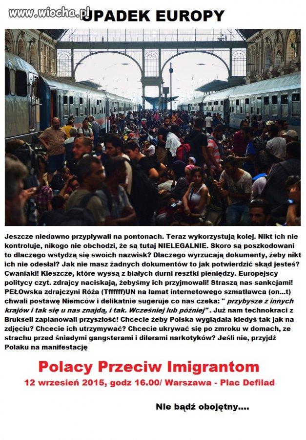 Pociąg zwany EUROPĄ jedzie ku przepaści