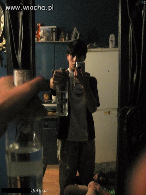 Sweet focia w lustrze + 15 lat + Bols