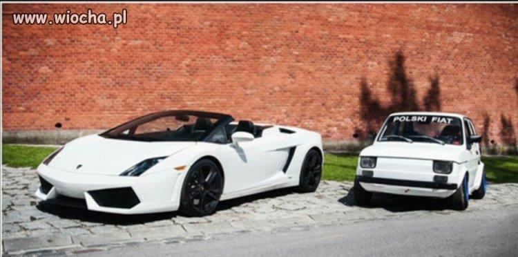 Na zdjęciu widzimy piękny sportowy  samochod
