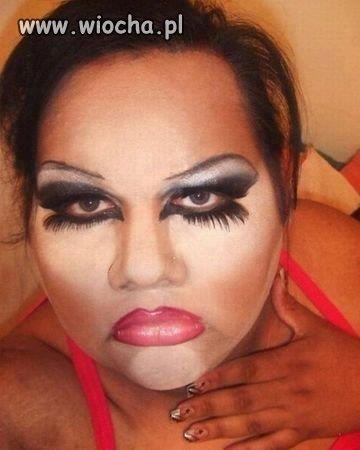 Mój makijaż jest taki delikatny..