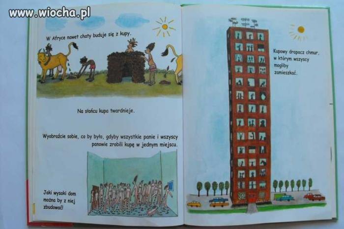Książka dla dzieci o kupie...