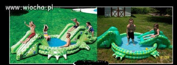 Zdjęcie z opakowania vs basen w realu