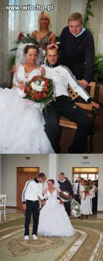 To był ślub w zupełnie innym stylu...