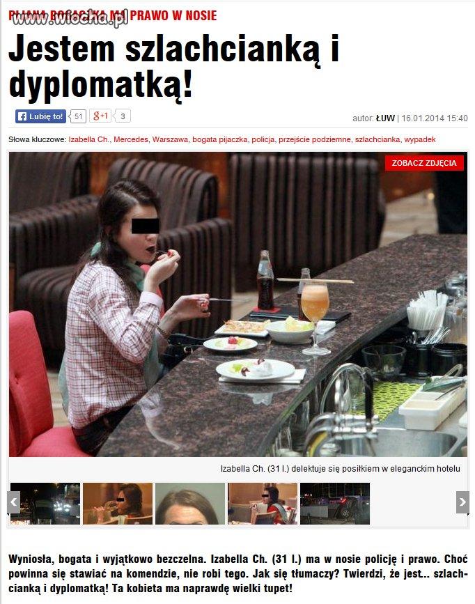 Szlachcianka i dyplomatka
