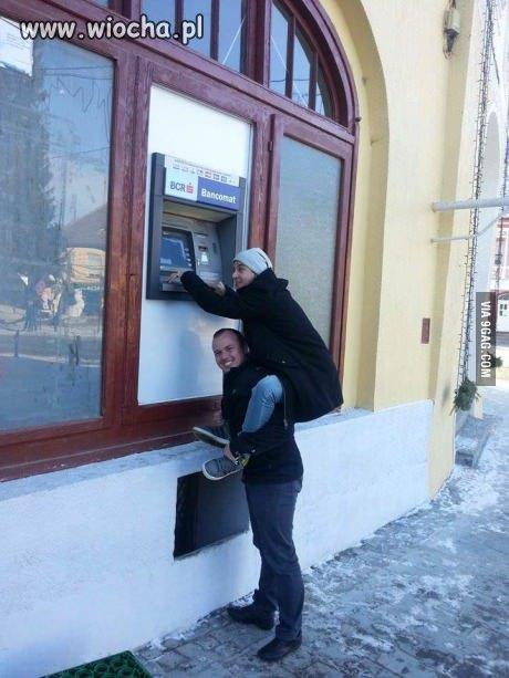 Bankomat w Rumunii