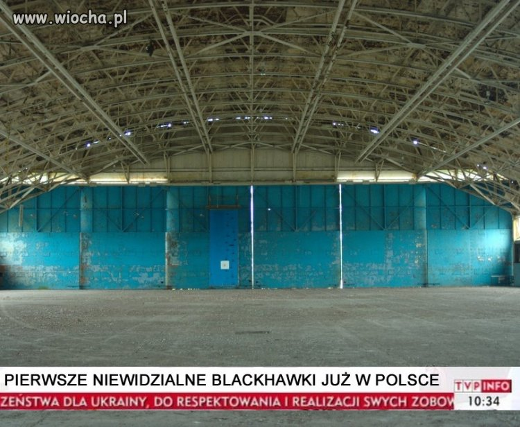 Black Hawk w Polsce i to w wersji steahlt
