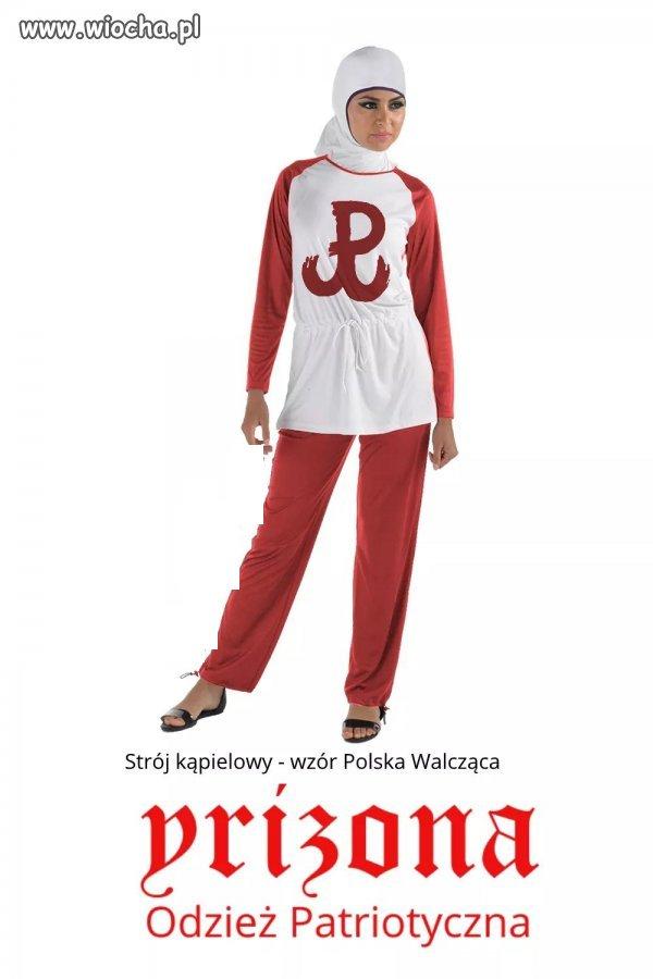 Hidżab i Polska Walcząca, a do tego charakterystyczna