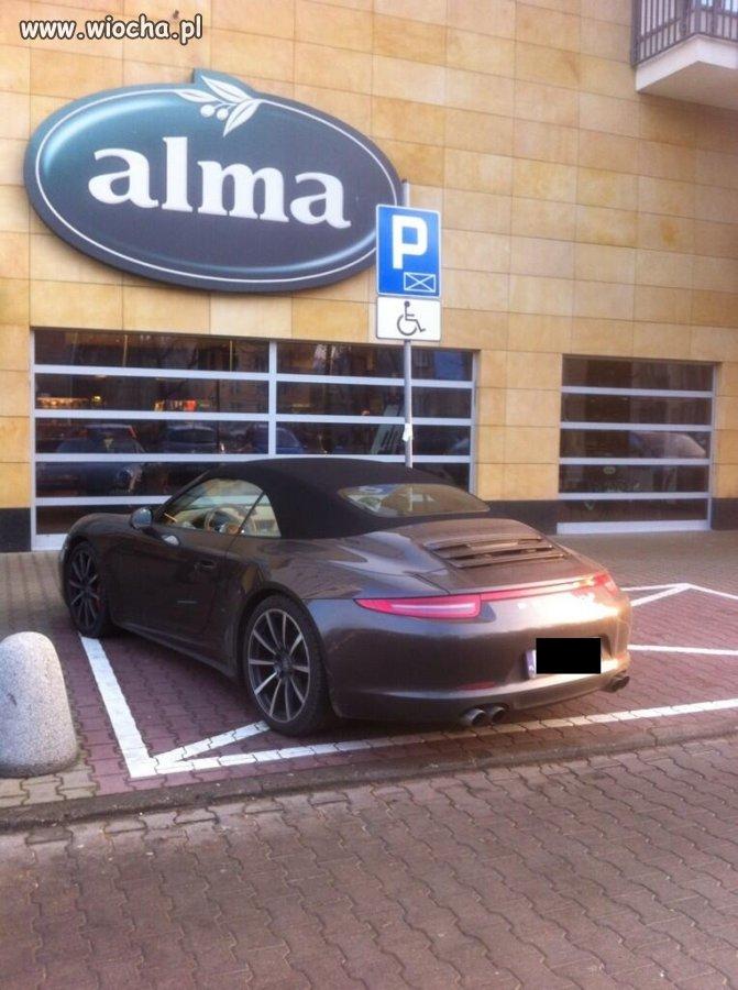 Porsche i mistrz parkowania