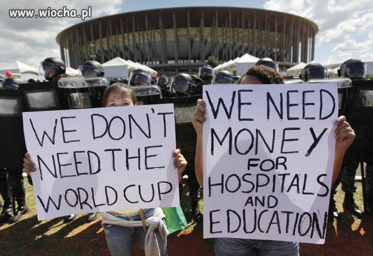 Prawdziwe potrzeby Brazylijczyków