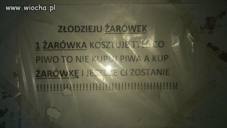 W jednym z bloków w Płocku