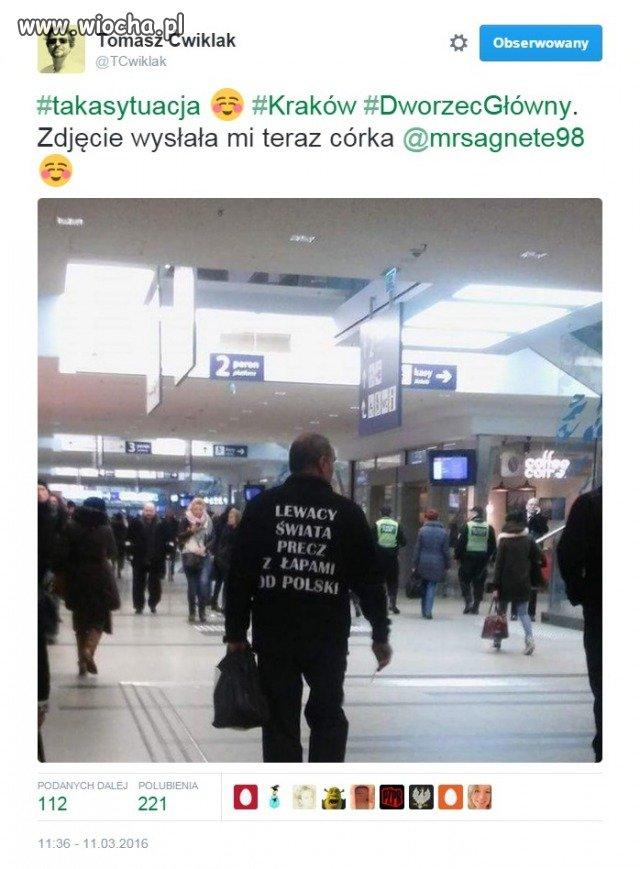 """""""Lewacy świata, precz z łapami od Polski"""""""