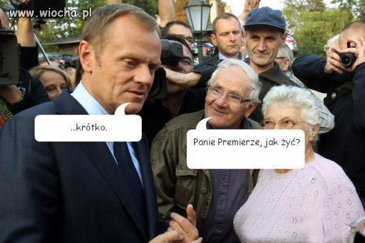 Pytanie do Premiera...