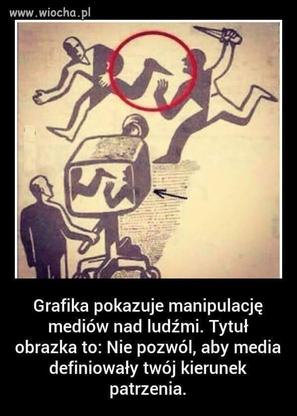 Typowa manipulacja mediów