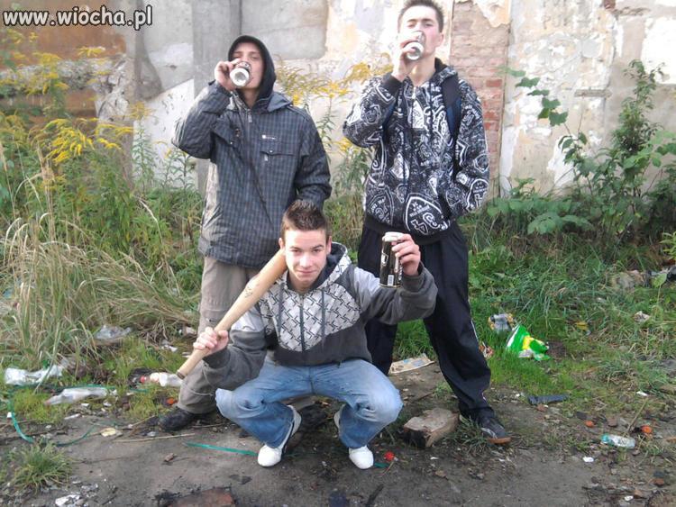 Gangsterka z browarami