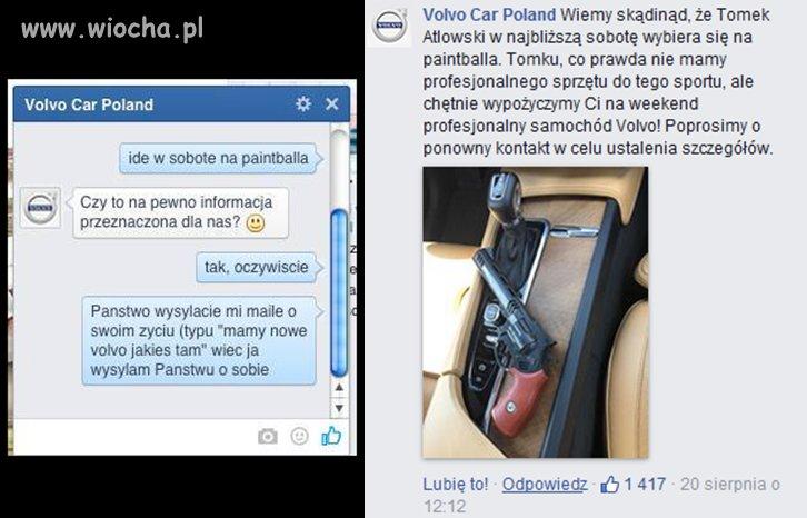 Tomek trollował Volvo