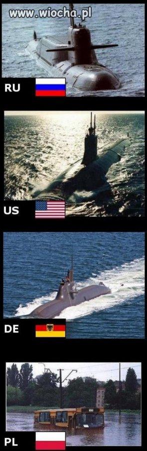 Każdy ma swoje łodzie podwodne