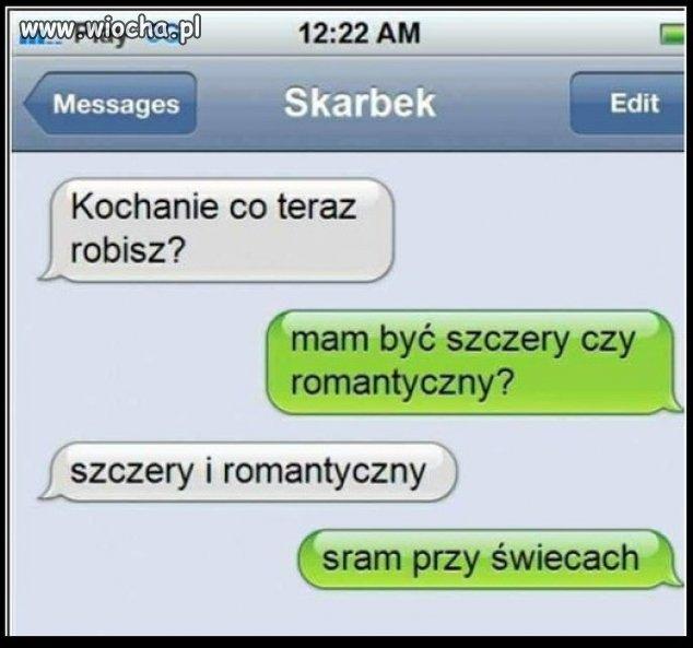 Szczery romantyk