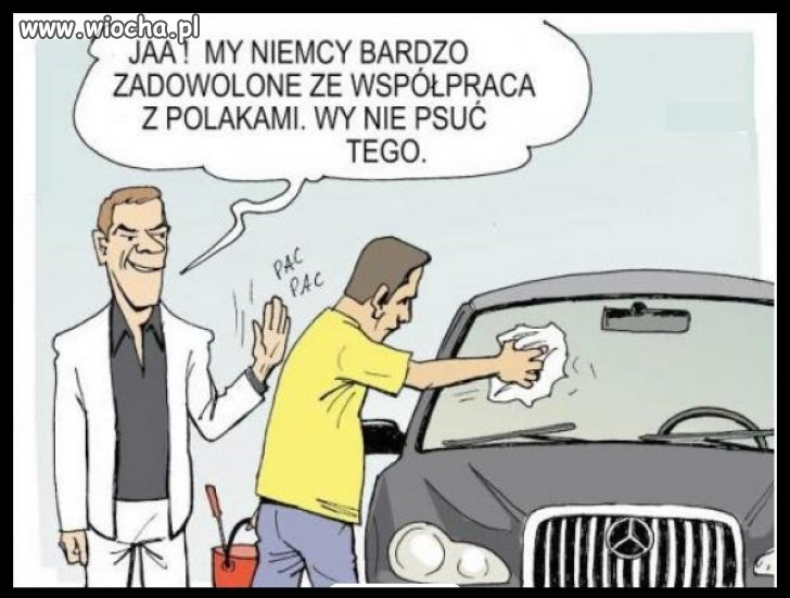 Współpraca polsko-niemiecka.