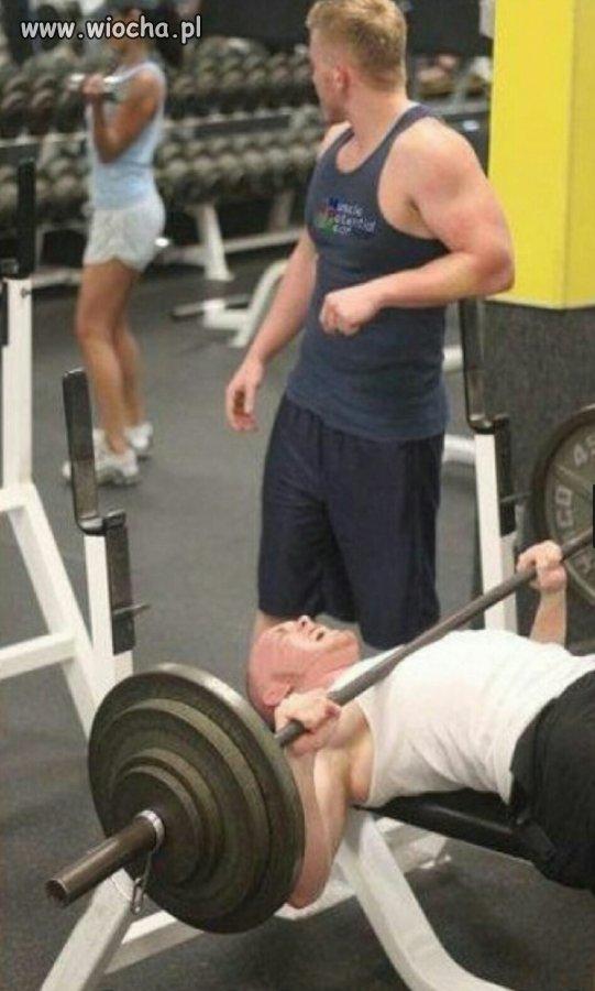 Kobiety - największe zagrożenie na siłowni