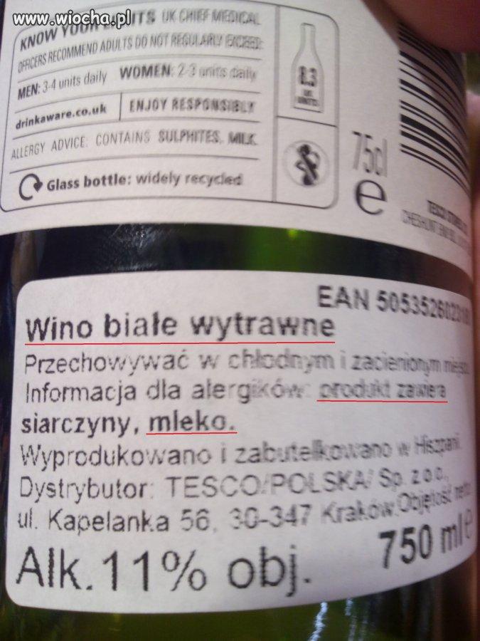 Wino z Tesco