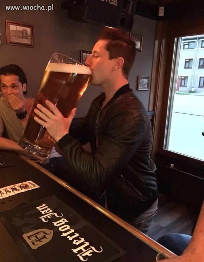 """""""Wypiłem tylko jedno piwo"""""""