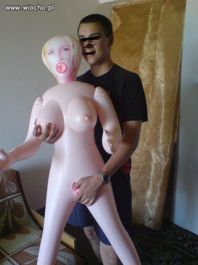 Z nową dziewczyną