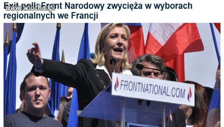 Faszyści wygrali wybory we Francji!!!