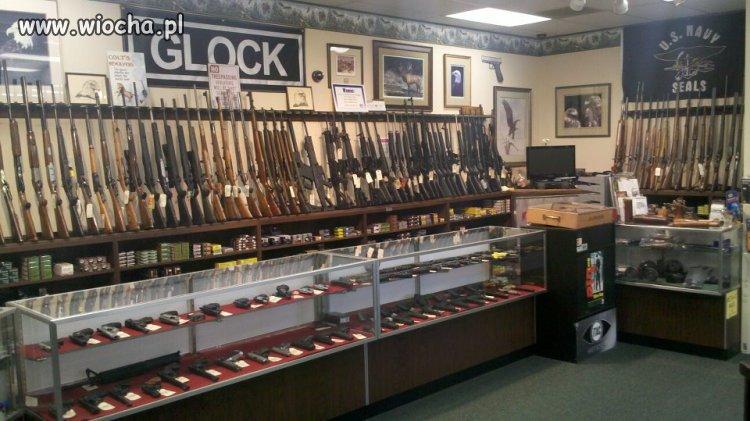 USA: Zwykły sklep z bronią. A w Polsce?